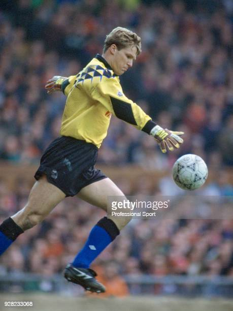 Chris Woods of Sheffield Wednesday in action, circa 1992.