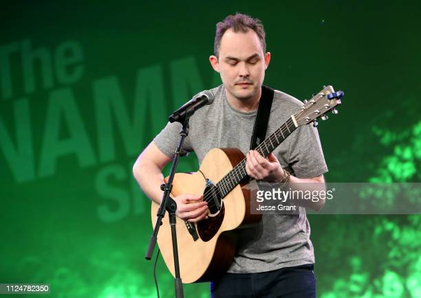 Chris Woods performs onstage at the Breakfast Session during the 2019 NAMM Show at the Anaheim Convention Center on January 25, 2019 in Anaheim,...