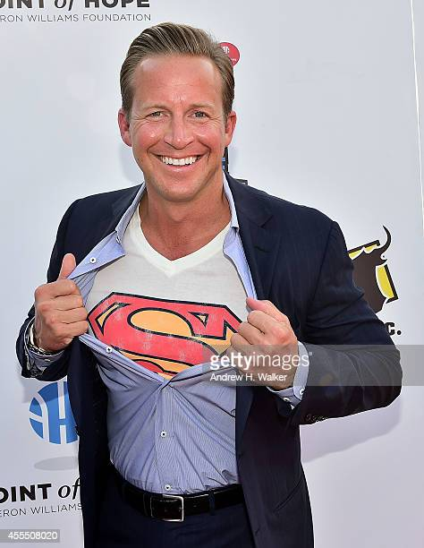 Chris Wragge attends the 5th Annual Celebrity Dodge Barrage at Basketball City Pier 36 South Street on September 15 2014 in New York City