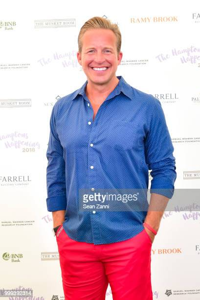 Chris Wragge attends The Samuel Waxman Cancer Research Foundation 14th Annual The Hamptons Happening on July 14 2018 in Bridgehampton New York