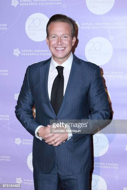 Chris Wragge during the Samuel Waxman Cancer Research Foundation's COLLABORATING FOR A CURE 20th Anniversary Gala on November 16 2017 in New York City