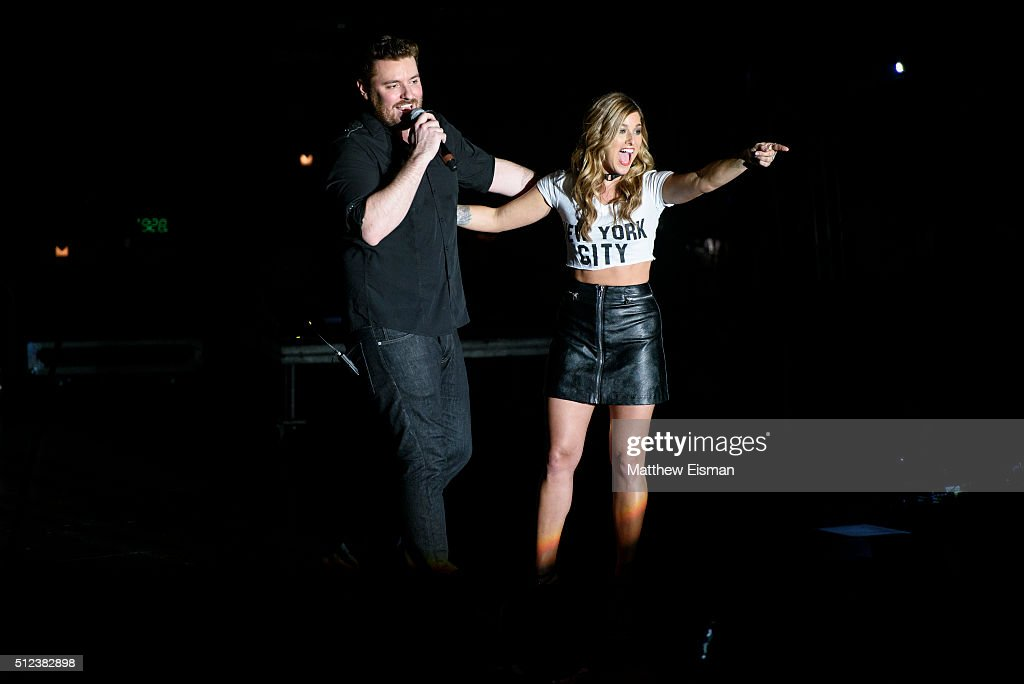Chris Young With Cassadee Pope In Concert - New York, New York