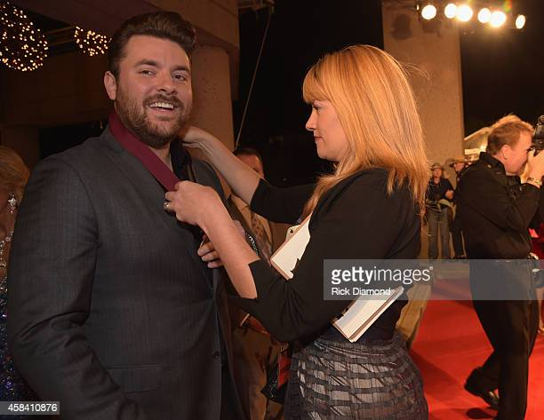 Chris Young attends the BMI 2014 Country Awards at BMI on November 4 2014 in Nashville Tennessee