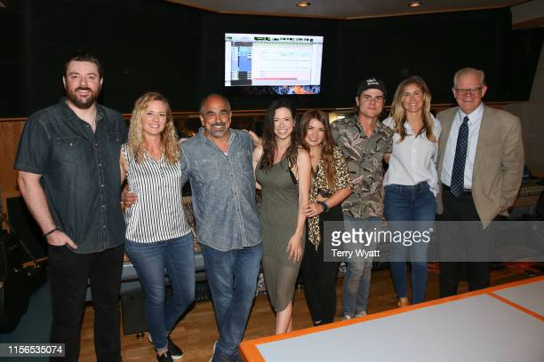 Chris Young Crystal Dishmon Paul Barnabee Joy Williams Tenille Townes Ross Copperman ACM Lifting Lives Executive Director Lyndsay Cruz and Stuart...