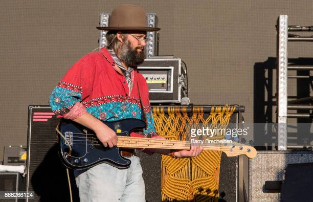 Chris Zasche of The Head and the Heart performs during Voodoo Music Arts Experience at City Park on October 29 2017 in New Orleans Louisiana