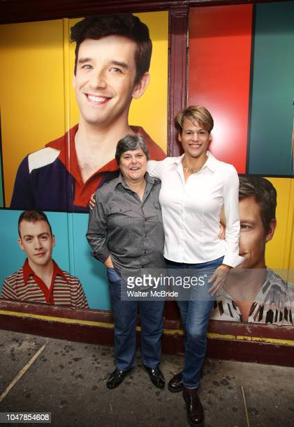 Chrisanne Blankenship and Alexandra Billings attend the Broadway Family invite to The Final Dress Rehearsal Of Harvey Fierstein's 'Torch Song' on...