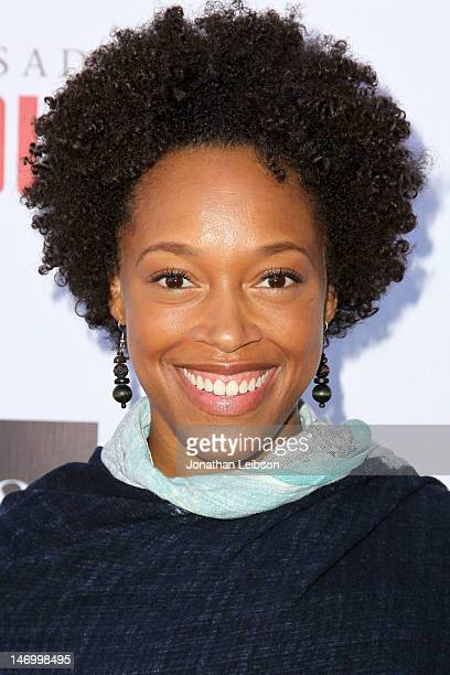 "Chrise Boothe attends the Opening Night Performance Of August Wilson's ""Jitney"" At The Pasadena Playhouse at Pasadena Playhouse on June 24, 2012 in..."