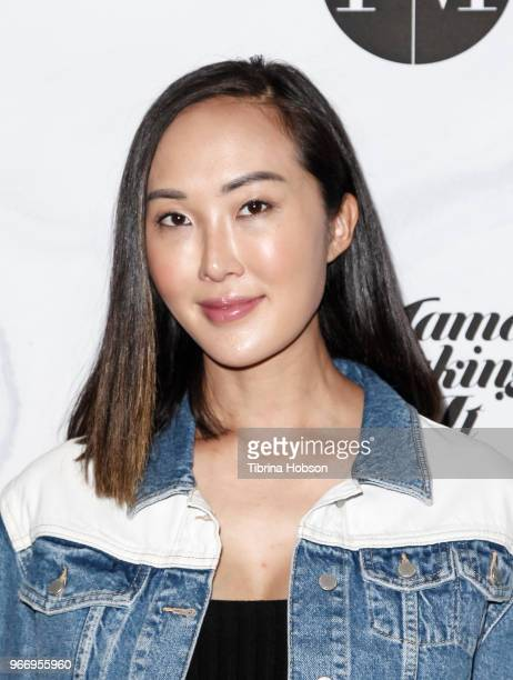 Chriselle Lima ttends the 2018 Mamas Making It Summit at The Line Hotel on June 3 2018 in Los Angeles California