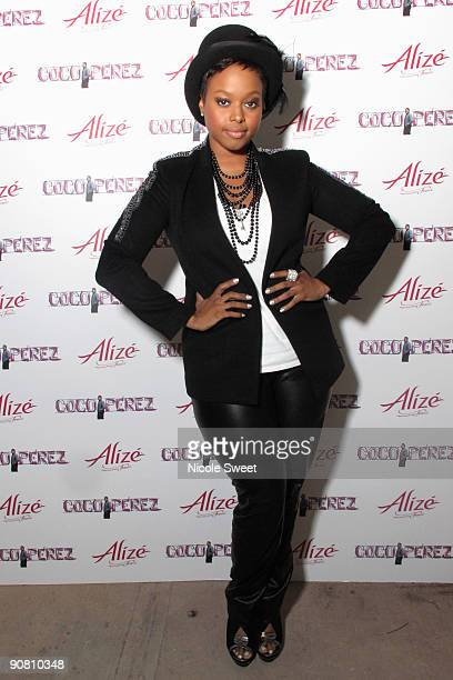 Chrisette Michele attends the CocoPerezcom launch party at Juliet on September 15 2009 in New York City