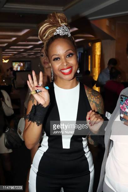 Chrisette Michele attends The Power Of Influence Awards at ZAVO on June 3 2019 in New York City