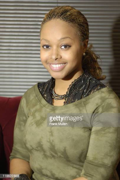 Chrisette Michele during Chrisette Michele Meets and Greets the Media March 6 2006 at Prime Phocus Studios in Atlanta Georgia United States