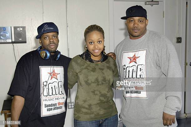 Chrisette Michele with Terrence Graham and Will Washington