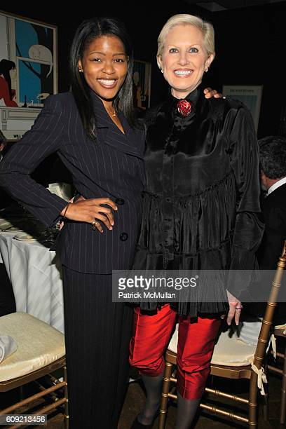 Chrishaunda Lee and Dianne Bernhard attend LIVING BEYOND BELIEF Benefit in Honor of KENNETH COLE at National Arts Club on February 9 2007 in New York...