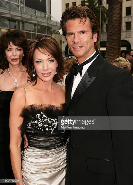 Chrishell Stause and Lorenzo Lamas during 33rd Annual Daytime Emmy Awards Red Carpet at Kodak Theater in Hollywood California United States