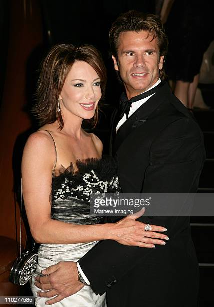 Chrishell Stause and Lorenzo Lamas during 33rd Annual Daytime Emmy Awards - After Party at Kodak Theater in Hollywood, California, United States.