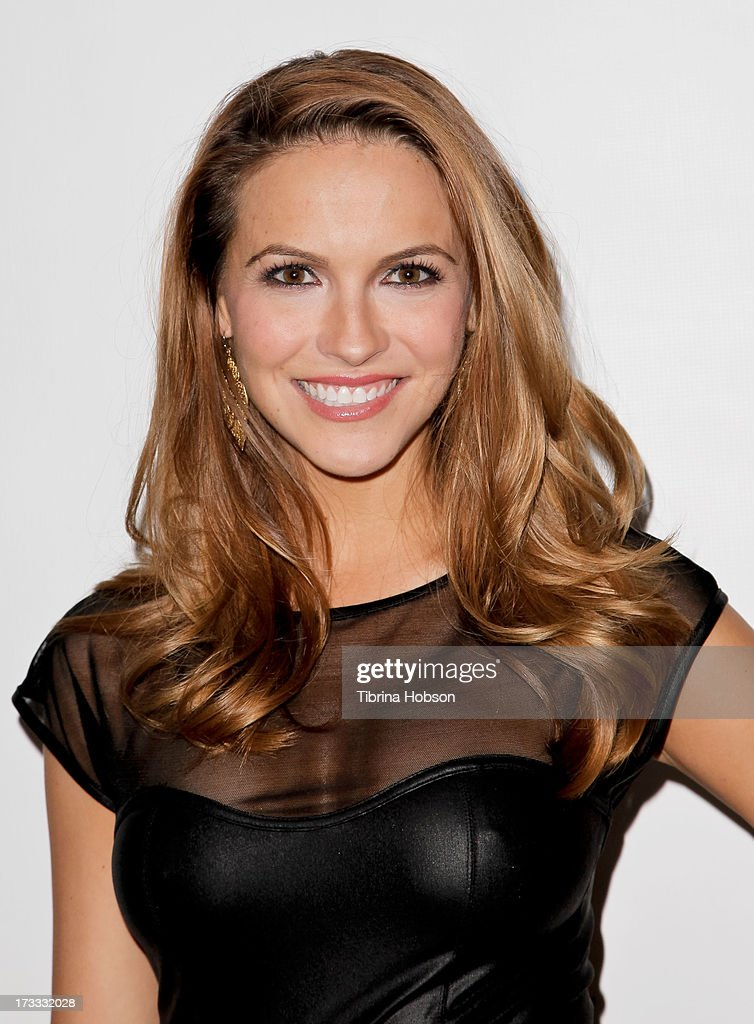 Chrishell Stause attends the Gents at Kitson launch event at Kitson on Roberston on July 11, 2013 in Beverly Hills, California.