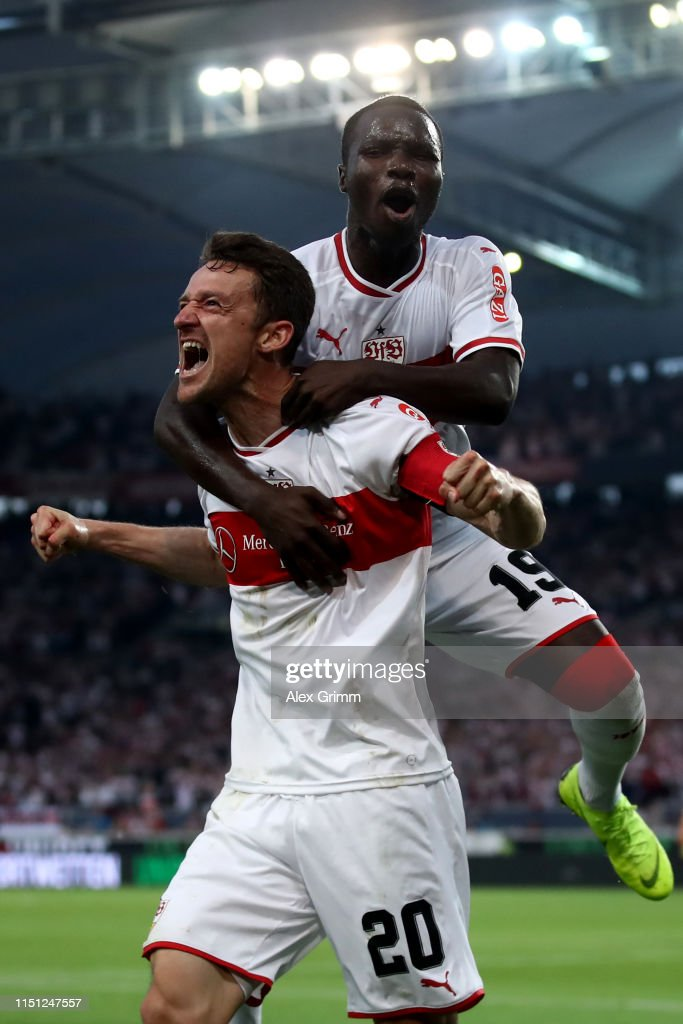 DEU: VfB Stuttgart v 1. FC Union Berlin - Bundesliga Playoff Leg One