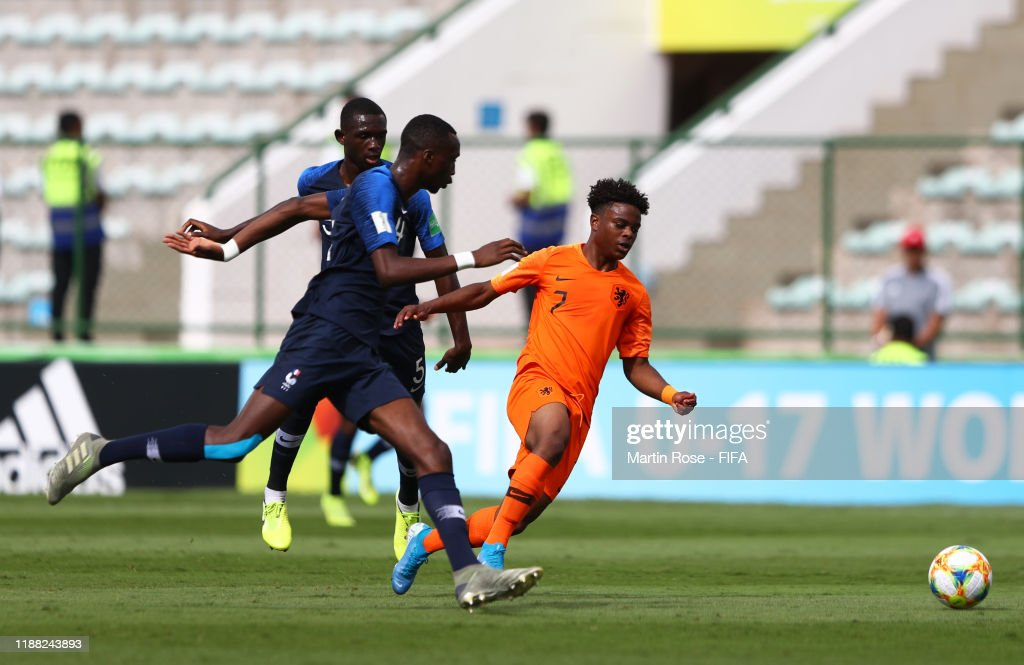 Netherlands v France - 3rd Place - FIFA U-17 World Cup Brazil 2019 : News Photo