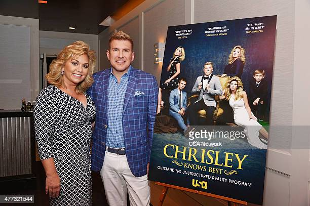 BEST Chrisley Knows Best ATAS FYC Screening at The London West Hollywood in Los Angeles on Monday June 8 2015 Pictured Julie Chrisley Todd Chrisley