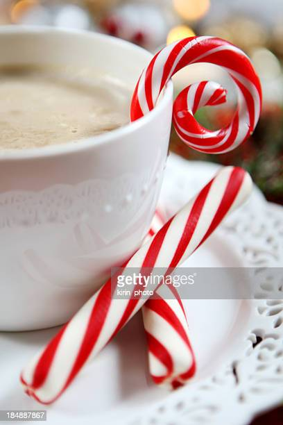 Chrismas- hot cocoa and candy cane
