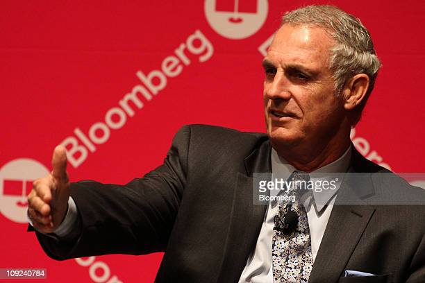 Chriss Street chairman and chief executive officer of Chriss Street Co speaks during the Bloomberg Link Pensions and Endowment Portfolio Strategies...