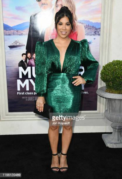 "Chrissie Fit attends LA Premiere Of Netflix's ""Murder Mystery"" at Regency Village Theatre on June 10, 2019 in Westwood, California."