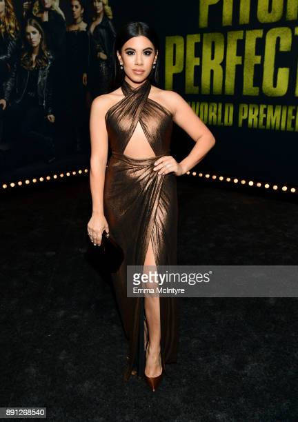 Chrissie Fit attends the premiere of Universal Pictures' 'Pitch Perfect 3' at Dolby Theatre on December 12 2017 in Hollywood California