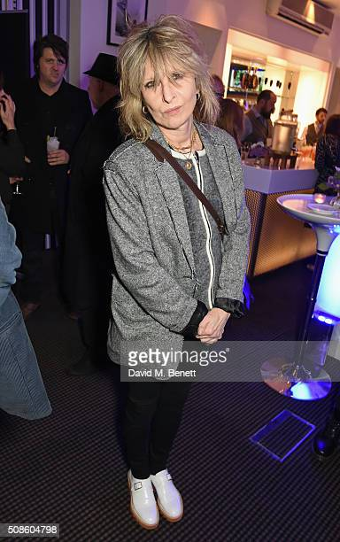 Chrissie Hynde attends a cast and crew screening of 'This Beautiful Fantastic' at BAFTA on February 5 2016 in London England