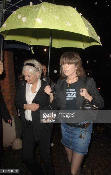 Chrissie Hynde during 1976 Milestones of Gemstones 2006 After Party Arrivals at Wallace Collection in London Great Britain