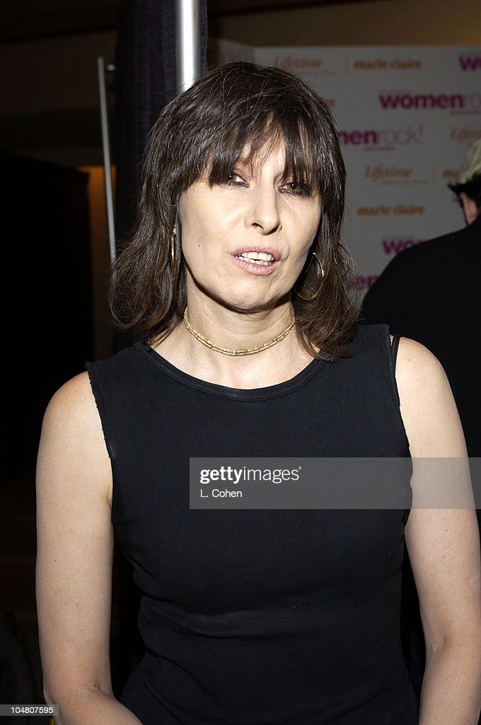 Chrissie Hynde during The 3rd Annual 'Women Rock! Girls & Guitars' Supporting the Stop Breast Cancer for Life Initiative - Press Room at The Kodak Theatre in Hollywood, California, United States.