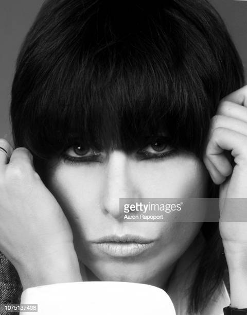 Chrissie Hynde, founding vocalist of The Pretenders poses for a portrait in July 1984 in Los Angeles, California.
