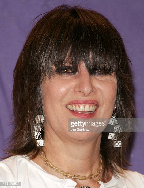 Chrissie Hynde of The Pretenders inductee during 20th Annual Rock and Roll Hall of Fame Induction Ceremony Press Room at Waldorf Astoria Hotel in New...