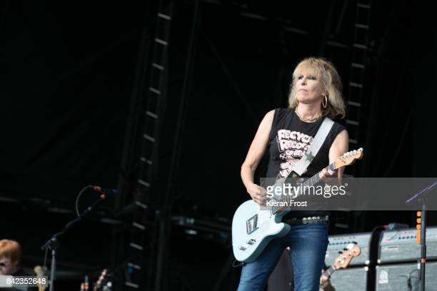 Chrissie Hynde of The Pretenders perform at Electric Picnic Festival at Stradbally Hall Estate on September 3 2017 in Laois Ireland