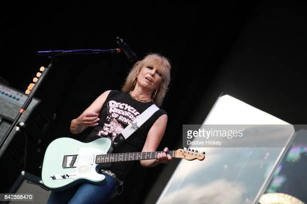 03 Chrissie Hynde of the Pretenders performs at Electric Picnic Festival at Stradbally Hall Estate on September 3 2017 in Laois Ireland