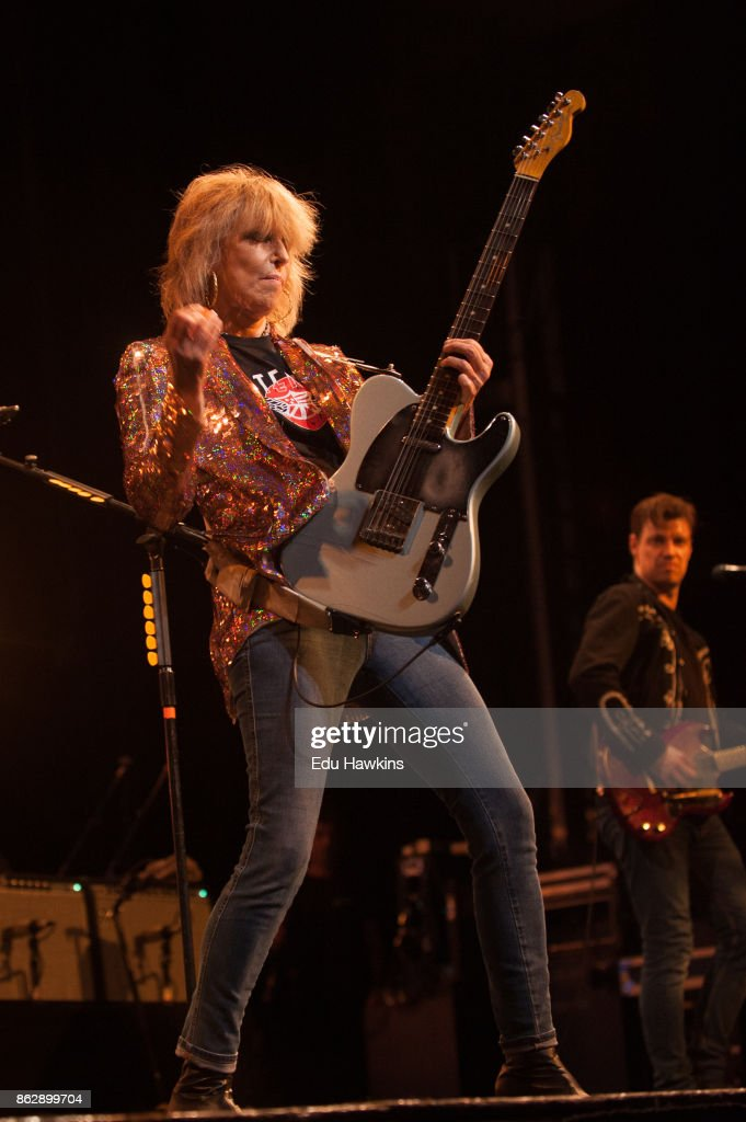 The Pretenders Perform At The New Theatre, Oxford : News Photo