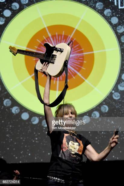 Chrissie Hynde of The Pretenders performs during the 35th Annual Austin Music Awards at the 2017 SXSW Conference And Festivals at ACL Live on March...