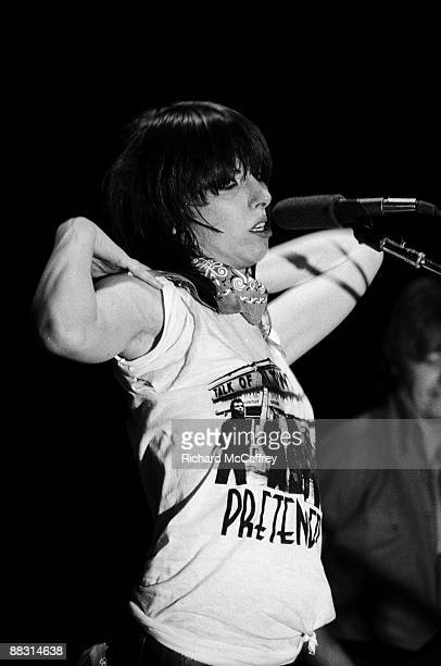 Chrissie Hynde of The Pretenders performs live at The Winterland Ballroom in 1978 in San Francisco, California.