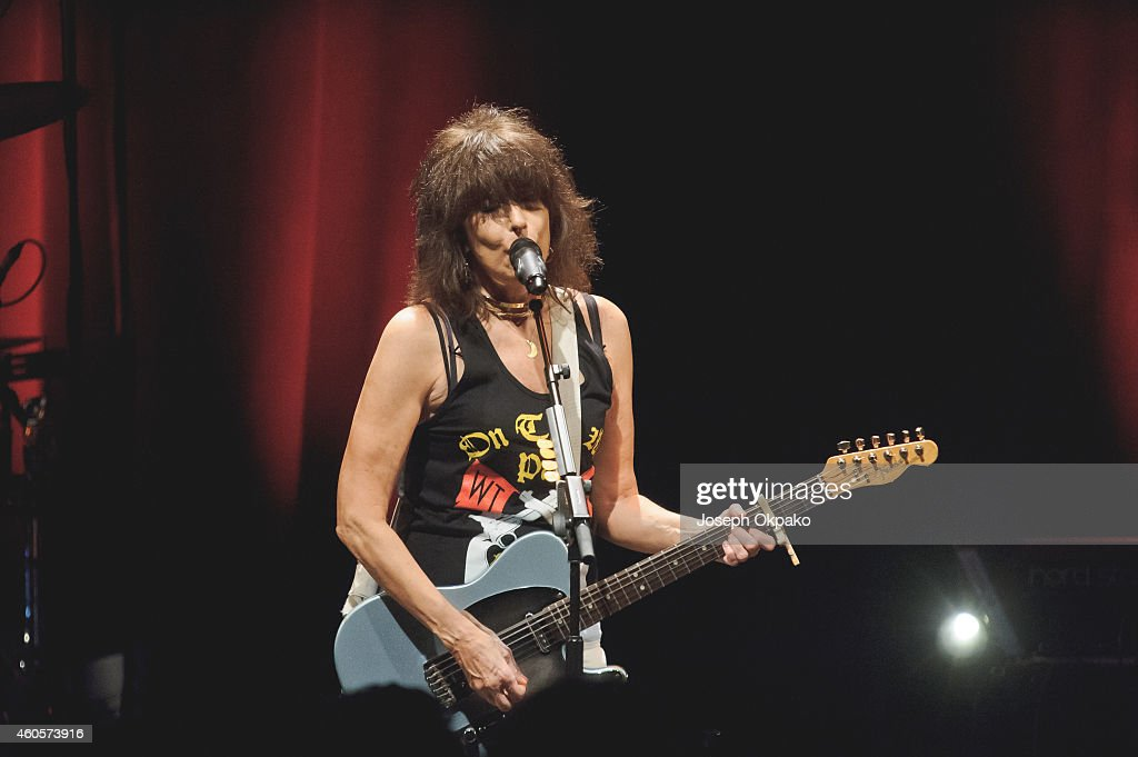 Chrissie Hynde performs at KOKO on December 16, 2014 in London, England.