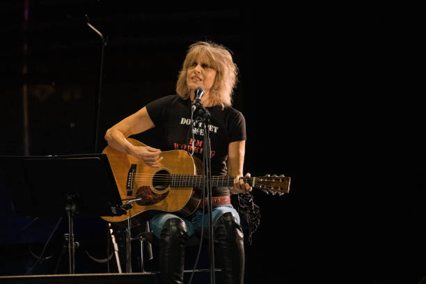GBR: Chrissie Hynde Performs At The Royal Opera House