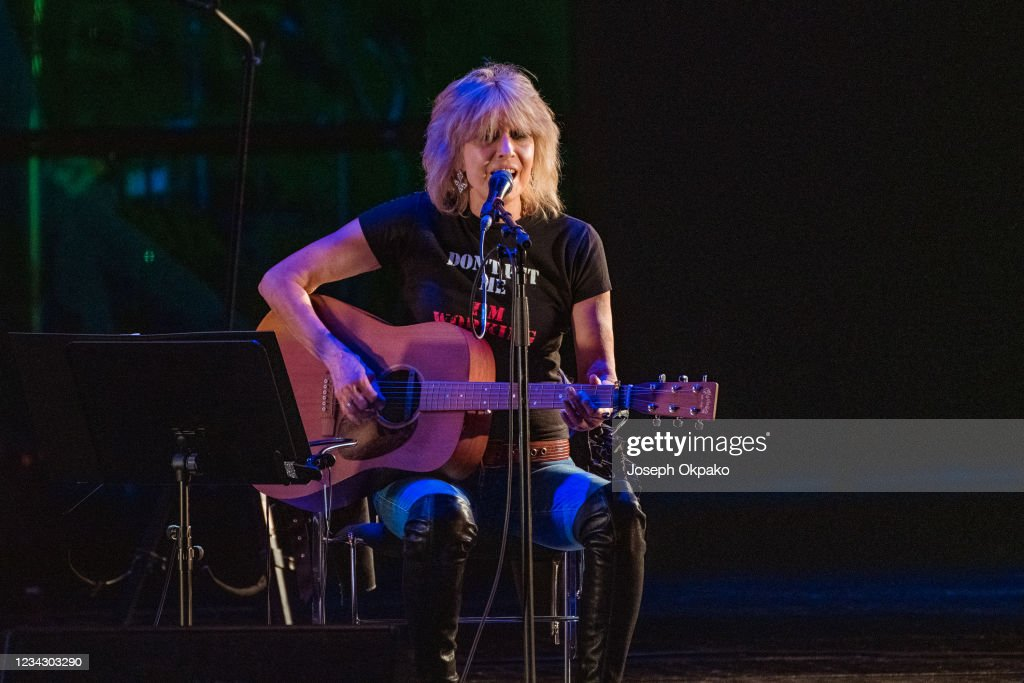Chrissie Hynde Performs At The Royal Opera House : Nieuwsfoto's