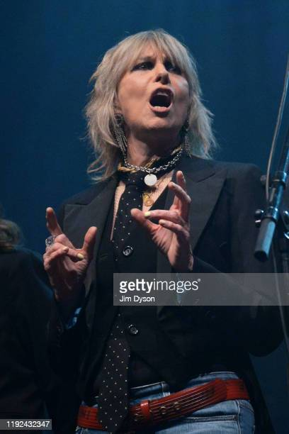 Chrissie Hynde performs during Rufus Martha Wainwright's 'A Not So Silent Night' at The Royal Festival Hall on December 06 2019 in London England