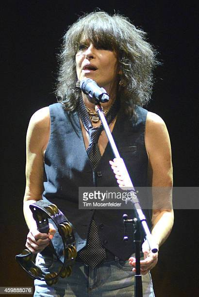 Chrissie Hynde performs in support of her 'Stockholm' release at The Masonic on December 2 2014 in San Francisco California
