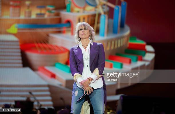 Chrissie Hynde performs on stage during BBC Proms In The Park 2019 at Hyde Park on September 14, 2019 in London, England.