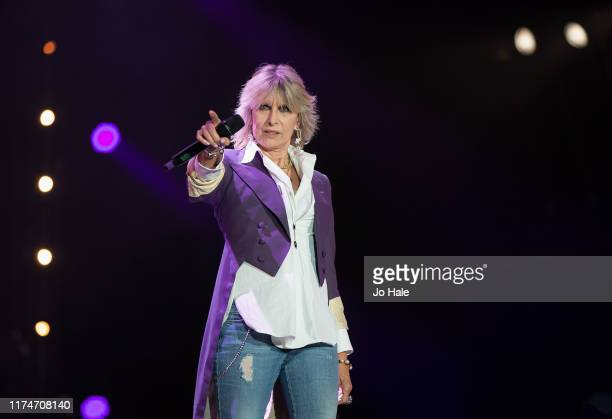 Chrissie Hynde performs on stage during BBC Proms In The Park 2019 at Hyde Park on September 14 2019 in London England