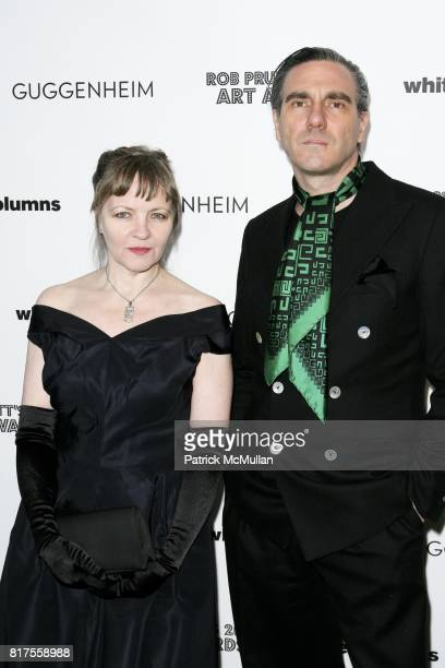 Chrissie Iles and Paolo Canevari attend ROB PRUITT's 2010 Art Awards at Webster Hall on December 8th 2010 in New York City