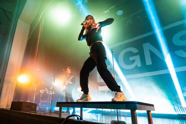 GBR: Against The Current Performs At Islington Assembly Hall, London