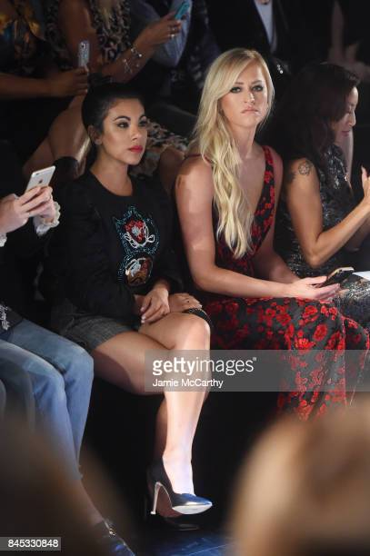 Chrissy Fit and Danielle Moinet attend Vivienne Tam fashion show during New York Fashion Week The Shows at Gallery 1 Skylight Clarkson Sq on...