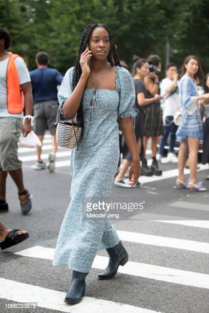 Chrissy Ford after the Tory Burch show during New York Fashion Week Spring/Summer 2019 on September 7 2018 in New York City