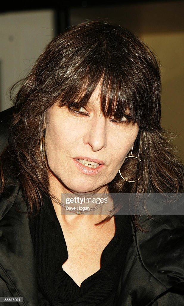 Chrissy Hynde arrives at the UK premiere of Ano Una at Curzon Renoir Cinema on November 29, 2008 in London, England.