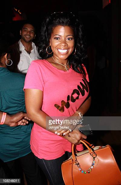 Chrissy Lampkin attends BMI's Know Them Now showcase at the Canal Room on August 4, 2010 in New York City.